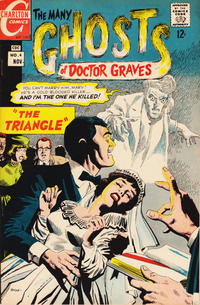 Cover Thumbnail for The Many Ghosts of Dr. Graves (Charlton, 1967 series) #4