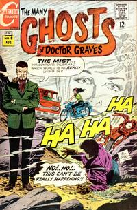 Cover Thumbnail for The Many Ghosts of Dr. Graves (Charlton, 1967 series) #8