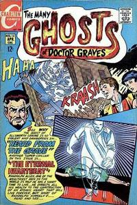 Cover Thumbnail for The Many Ghosts of Dr. Graves (Charlton, 1967 series) #13