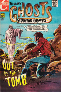 Cover for The Many Ghosts of Dr. Graves (Charlton, 1967 series) #19