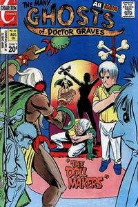 Cover Thumbnail for The Many Ghosts of Dr. Graves (Charlton, 1967 series) #33