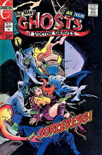 Cover Thumbnail for The Many Ghosts of Dr. Graves (Charlton, 1967 series) #41