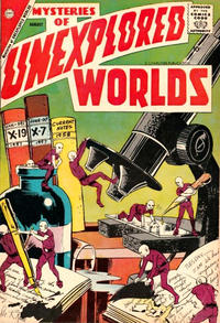 Cover Thumbnail for Mysteries of Unexplored Worlds (Charlton, 1956 series) #9