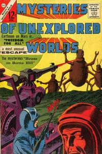 Cover Thumbnail for Mysteries of Unexplored Worlds (Charlton, 1956 series) #35