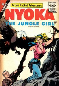 Cover Thumbnail for Nyoka the Jungle Girl (Charlton, 1955 series) #18