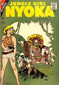 Cover Thumbnail for Nyoka the Jungle Girl (Charlton, 1955 series) #22