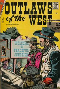 Cover Thumbnail for Outlaws of the West (Charlton, 1957 series) #12