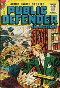Cover Thumbnail for Public Defender in Action (Charlton, 1956 series) #8