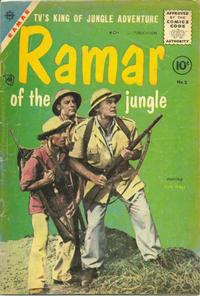 Cover Thumbnail for Ramar of the Jungle (Charlton, 1955 series) #2