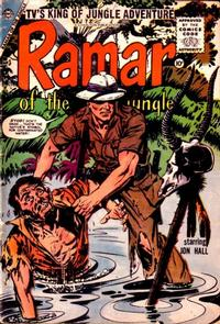 Cover Thumbnail for Ramar of the Jungle (Charlton, 1955 series) #3