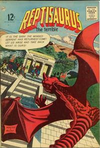 Cover Thumbnail for Reptisaurus Special Edition (Charlton, 1963 series) #1