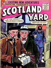 Cover Thumbnail for Scotland Yard (Charlton, 1955 series) #3