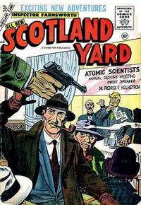 Cover Thumbnail for Scotland Yard (Charlton, 1955 series) #4