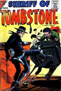 Cover Thumbnail for Sheriff of Tombstone (Charlton, 1958 series) #1