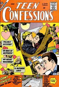Cover Thumbnail for Teen Confessions (Charlton, 1959 series) #1