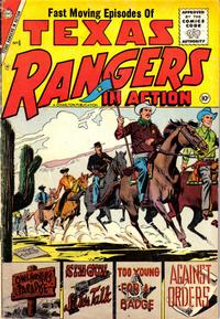 Cover Thumbnail for Texas Rangers in Action (Charlton, 1956 series) #6