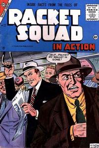 Cover Thumbnail for Racket Squad in Action (Charlton, 1952 series) #22