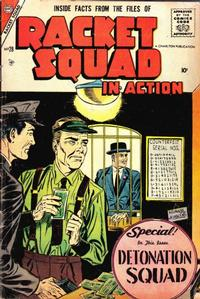 Cover Thumbnail for Racket Squad in Action (Charlton, 1952 series) #28