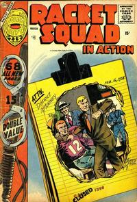 Cover Thumbnail for Racket Squad in Action (Charlton, 1952 series) #29