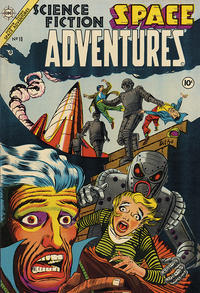 Cover Thumbnail for Space Adventures (Charlton, 1952 series) #10