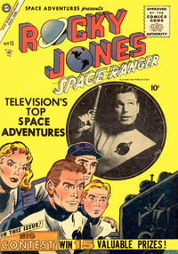 Cover Thumbnail for Space Adventures (Charlton, 1952 series) #15