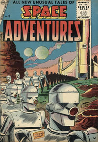 Cover Thumbnail for Space Adventures (Charlton, 1952 series) #19