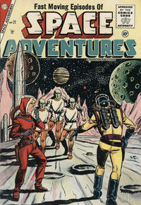 Cover Thumbnail for Space Adventures (Charlton, 1952 series) #21