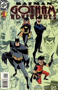 Cover Thumbnail for Batman: Gotham Adventures (DC, 1998 series) #1 [Direct Sales]