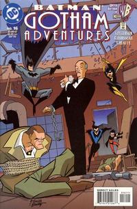 Cover for Batman: Gotham Adventures (DC, 1998 series) #16 [Direct Sales]