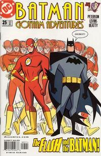 Cover Thumbnail for Batman: Gotham Adventures (DC, 1998 series) #25 [Direct Sales]