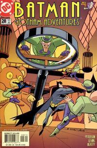 Cover Thumbnail for Batman: Gotham Adventures (DC, 1998 series) #28