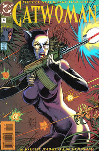 Cover Thumbnail for Catwoman (DC, 1993 series) #4 [Direct Edition]