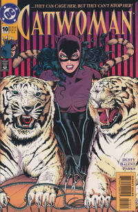 Cover for Catwoman (DC, 1993 series) #10 [Direct Edition]