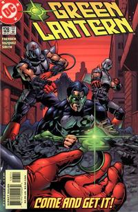 Cover for Green Lantern (DC, 1990 series) #128 [Direct Sales]
