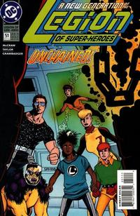 Cover Thumbnail for Legion of Super-Heroes (DC, 1989 series) #51