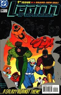 Cover for Legion of Super-Heroes (DC, 1989 series) #54