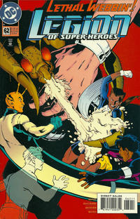 Cover Thumbnail for Legion of Super-Heroes (DC, 1989 series) #62
