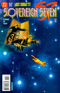 Cover for Sovereign Seven (DC, 1995 series) #13