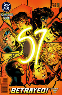 Cover Thumbnail for Sovereign Seven (DC, 1995 series) #15 [Direct Sales]