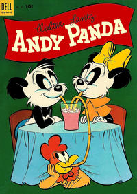 Cover Thumbnail for Walter Lantz Andy Panda (Dell, 1952 series) #24