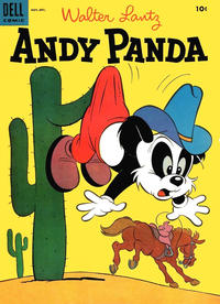 Cover Thumbnail for Walter Lantz Andy Panda (Dell, 1952 series) #28