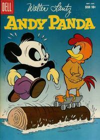 Cover Thumbnail for Walter Lantz Andy Panda (Dell, 1952 series) #44