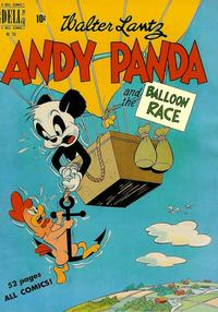 Cover Thumbnail for Four Color (Dell, 1942 series) #258 - Walter Lantz Andy Panda and the Balloon Race
