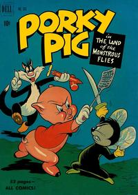 Cover Thumbnail for Four Color (Dell, 1942 series) #303 - Porky Pig in The Land of the Monstrous Flies