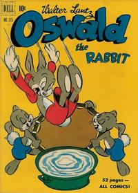 Cover Thumbnail for Four Color (Dell, 1942 series) #315 - Walter Lantz Oswald the Rabbit