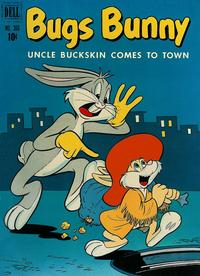 Cover Thumbnail for Four Color (Dell, 1942 series) #366 - Bugs Bunny Uncle Buckskin Comes to Town