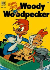 Cover Thumbnail for Four Color (Dell, 1942 series) #374 - Walter Lantz Woody Woodpecker