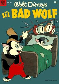 Cover Thumbnail for Four Color (Dell, 1942 series) #564 - Walt Disney's Li'l Bad Wolf