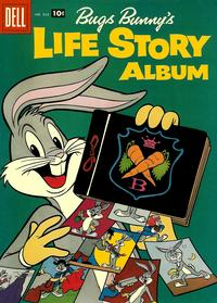 Cover Thumbnail for Four Color (Dell, 1942 series) #838 - Bugs Bunny's Life Story Album