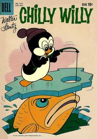 Cover Thumbnail for Four Color (Dell, 1942 series) #1017 - Walter Lantz Chilly Willy